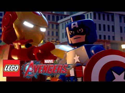 Видео № 1 из игры LEGO Marvel Мстители (Б/У) [PS Vita]
