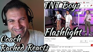 Coach Reaction + Amazed! - TNT Boys - Flashlight