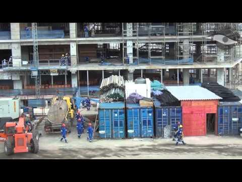 Obras Arena Corinthians no feriado do dia da consciência negra