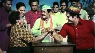 Hand Wrestling  Joy Mukherjee And Zeb Khan  <b>Aag Aur Daag</b>  Action Thriller