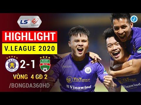 Highlight Hà Nội - Bình Dương | Siêu Phẩm Đẳng Cấp Của Quang Hải | Review Vòng 4 GĐ 2 V.League 2020