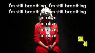 sia alive acoustic lyrics - मुफ्त ऑनलाइन