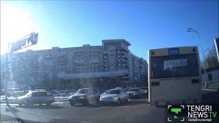 Водитель автобуса в Караганде переехал пожилую женщину