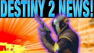 DESTINY 2 NEWS - NO MORE RUMBLE - MAJOR VENDOR CHANGES - UNCAPPED FRAMERATE - EXOTIC QUESTS