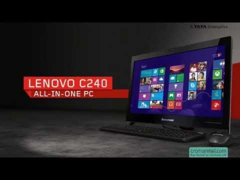 """Lenovo C240 57-311939 18.5"""" All-in-One Desktop"""