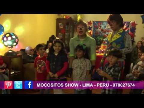 PAYASOS PARA FIESTAS INFANTILES LIMA PERU