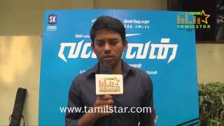 M  Saravanan at Valiyavan Movie Movie Audio Launch