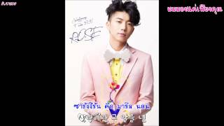 (Karaoke - TH Sub) Wooyoung (2PM) - R.O.S.E (Korean Version)