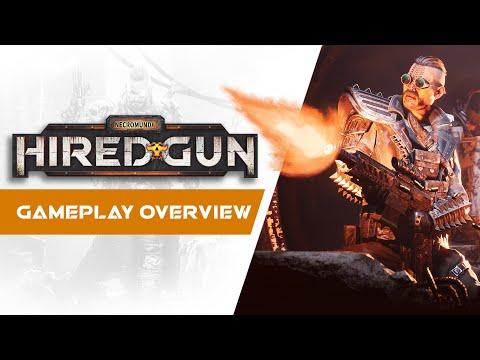 Gameplay Overview Trailer de Necromunda: Hired Gun