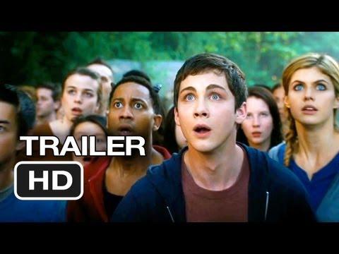 Percy Jackson: Sea of Monsters Official Trailer #2 (2013) - Logan Lerman Movie HD