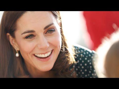 Herzogin Kate - Tapfer! Bei nur acht Grad kommt sie ohne Mantel & Strumpfhose