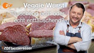 Vegetarische Wurst: Sebastian mischt wie die Industrie zusammen