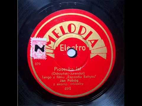 Tadeusz Faliszewski - Piosenka Fal (Tango, 1936).avi