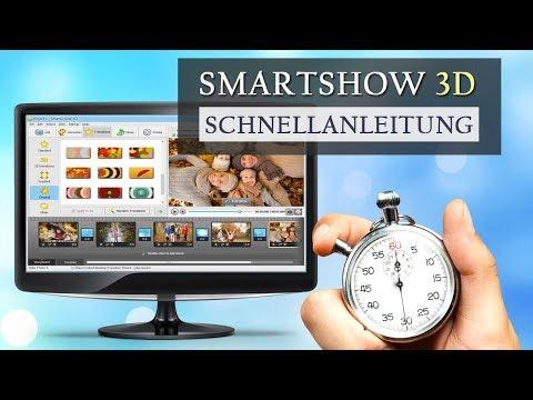 Die beste Diashow-Software für Windows: SmartSHOW 3D Schnellanleitung