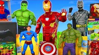 Superhero Toys: Batman, Spider Man, Hulk & Avengers Toy Vehicles for Kids
