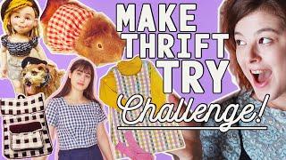 The Gingham Challenge // Make Thrift Try #4