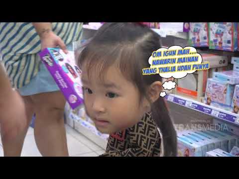 BROWNIS - Ruben Nitipin Anak, Igun dan Kenta Ajak Thalia Beli Mainan (15/6/19) Part 2