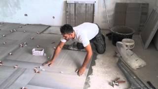 Posa mattonelle gres porcellanato terrazzo Самые лучшие видео