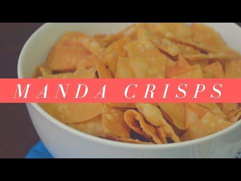 MANDA CRISPS   GREAT SNACK!