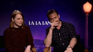 LALA LAND Interviews Emma Stone And Ryan Gosling