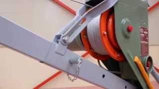 Elevador Eléctrico De Cable - Presentación Modelo U200-K - Umacon