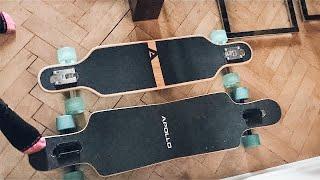 Longboard fahren lernen | VLOG #08
