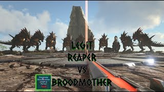 Reapers vs Alpha Broodmother, Sad Situation ~ Ark The Island #5