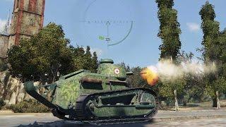 World of Tanks. Рандомный бой. ЛТ 1 уровня FT