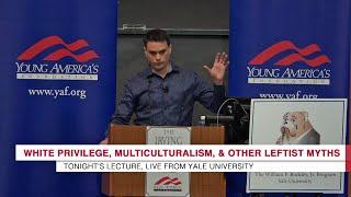 Ben Shapiro Makes Leftist Snowflakes Run For Safe Spaces @ Yale