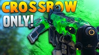 CROSSBOW ONLY FFA CHALLENGE! | Black Ops 3