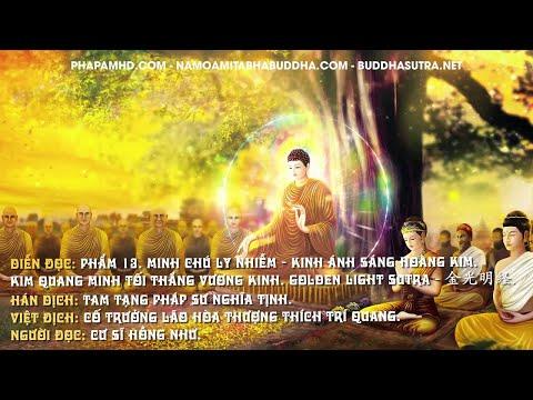 Phẩm 13. Minh Chú Ly Nhiễm - Kinh Ánh Sáng Hoàng Kim