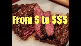 Turning Cheap BEEF into Expensive STEAK