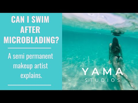 Can I Swim After Microblading? A Hawaii Microblader Explains