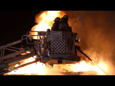 The 4K Guy: Sensational police and fire demo reel of 2019