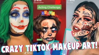 TikTok Crazy Beautiful Makeup Art