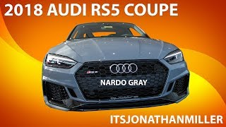 New YouTube Video. 2018 Audi RS5 review