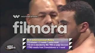 أقوى نزال لبدر هاري Badr Hari vs Alistair Overeem K1 Semi-finals 2018 WGP