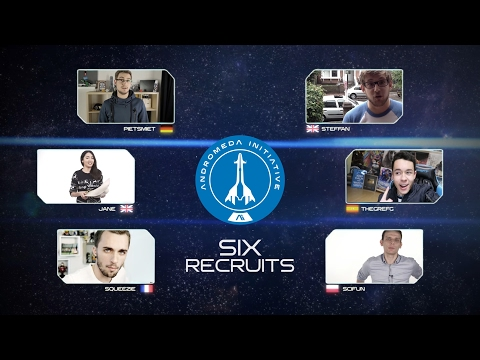 Become The Pathfinder - 6 Recruits Headed to Astronaut Training