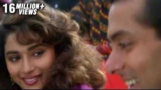 Salman Khan & Madhuri in Mujhse Judaa Hokar