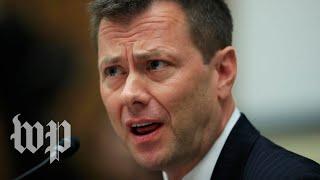FBI agent Peter Strzok fired for anti-Trump texts