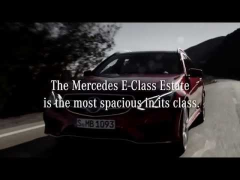 Mercedes-Benz Commercial for Mercedes-Benz E-Class Estate (2014 - 2015) (Television Commercial)