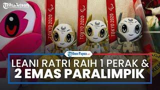 Leani Ratri Raih 2 Emas dan 1 Perak di Paralimpiade Tokyo, Langsung Cium Kaki Orangtua saat Bertemu