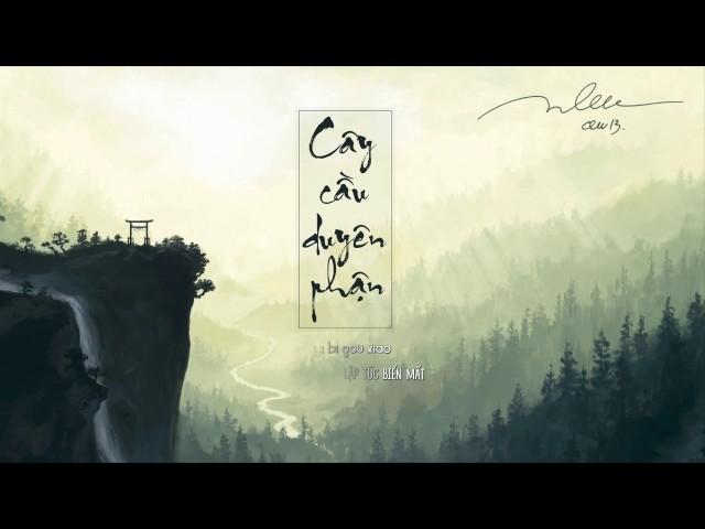 [PINYIN + VIETSUB] CÂY CẦU DUYÊN PHẬN (BRIDGE OF FATE) 缘分一道桥   VƯƠNG LỰC HOÀNH 王力宏; ĐÀM DUY DUY 谭维维