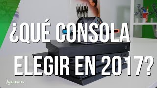 Xbox One X, PS4 Pro o Switch: qué consola elegir en 2017
