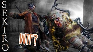 SEKIRO: GROSS CENTIPEDE GIRAFFE THING
