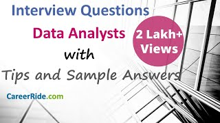 Data Analyst Interview Questions and Answers - For Freshers and Experienced Candidates