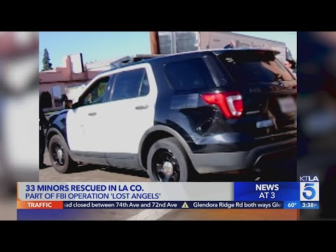 33 missing kids found during operation in L.A. County: FBI
