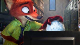 Fluffy Hair Scene - ZOOTOPIA (2016) Movie Clip