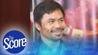 Sen. Manny Pacquiao Receives Hero's Welcome   The Score