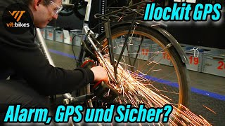 Der Schreck aller Fahrraddiebe? Rahmenschloss mit Alarm, GPS und Automatik - Ilockit GPS